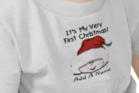 Baby's First Christmas T-shirts and Onsies