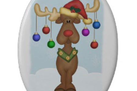 Funny Reindeer Christmas Ornaments