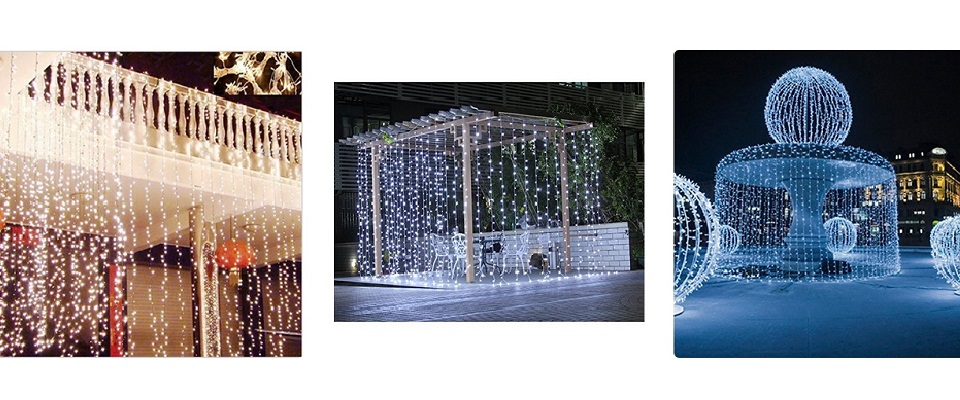 String Fairy Lights – A Curtain of Lights!