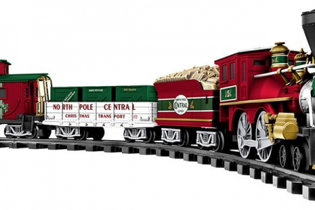 Christmas Trains for Gifts and Decorating