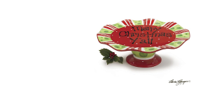 Christmas cake stands gifts