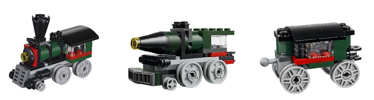 Lego Emerald Express Train Set