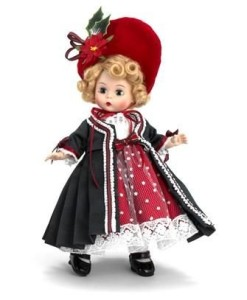 Madame Alexander Christmas doll