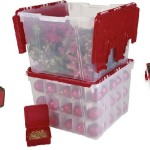 Christmas Ornament Storage Boxes and Containers