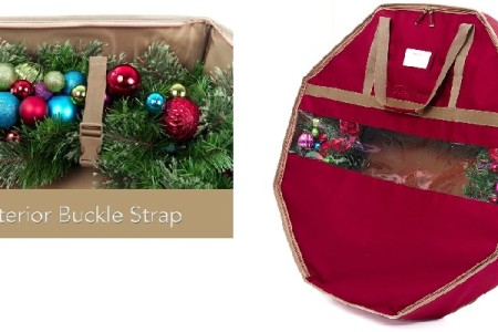 Christmas Wreath Storage Containers