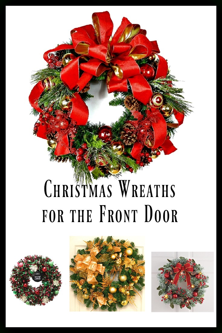 Front Door Christmas Wreaths