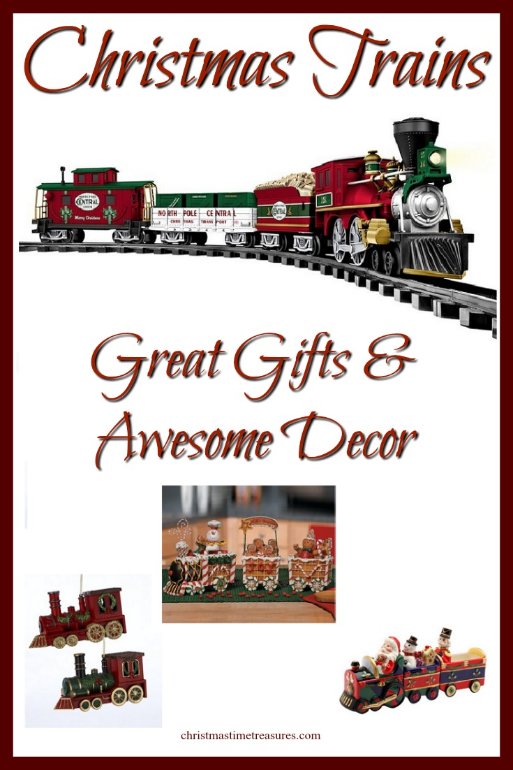Christmas Trains and Train Sets