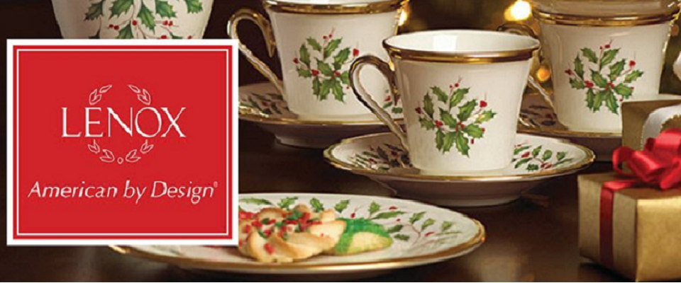 & Lenox Holiday China for Christmas - christmastimetreasures.com