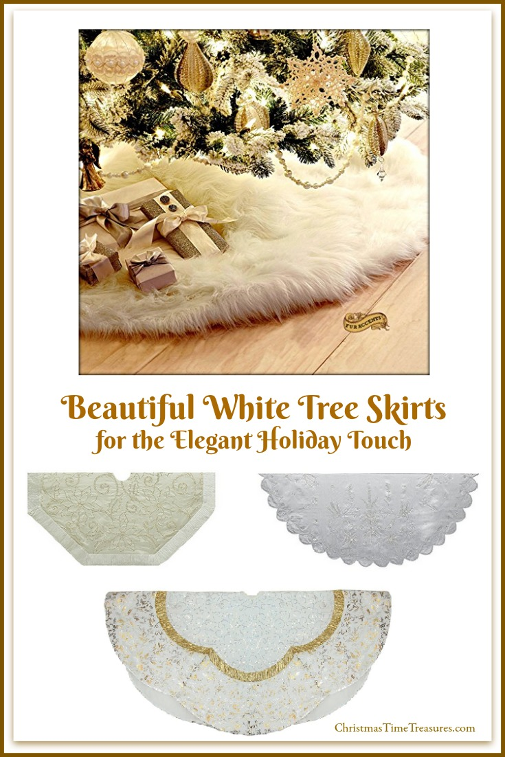 White Christmas Tree Skirts
