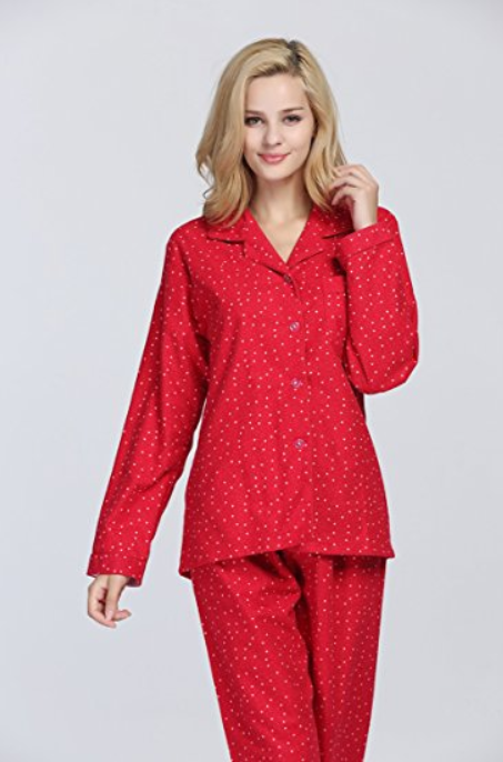 Red Christmas Pajamas for Women - christmastimetreasures.com e229d49e7